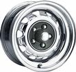 14 x 8 MOPAR FACTORY STYLE CHROME RALLYE WHEEL WITH 5 X 4 BOLT PATTERN AND 4-5/8 BACKSPACE