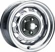 14 x 6 MOPAR FACTORY STYLE CHROME RALLYE WHEEL WITH 5 X 4-1/2 BOLT PATTERN AND 4 BACKSPACE