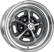 1967-68 MOPAR 15 X 8 MAGNUM 500 WHEEL WITH 5 X 4-1/2 BOLT PATTERN AND 4-1/2 BACKSPACE