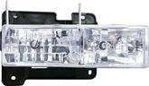 1988-98 CHEVROLET/GMC FULLSIZE TRUCK - DIAMOND CLEAR HEADLAMP SET