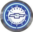 "15"" Genuine Chevrolet Neon Clock"