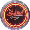 "15"" Hot Rod Garage Neon Clock"