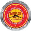 "15"" Mopar parts And accessories Vintage Neon Clock"