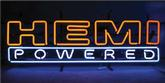 36 X 12  HEMI POWERED NEON SIGN