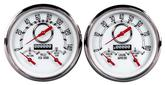 NVU Woodward 3-in-1 White Gauge Kit