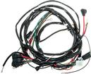 1968 Chevy II / Nova V8 Front Light Harness With Console Gauges And RH Internal Regulated Alt