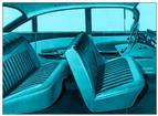 1959 IMPALA 4 DOOR HARDTOP (LIGHT/MED/DARK TURQUOISE CLOTH/LIGHT/DARK TURQUOISE VINYL UPHOLSTERY SET