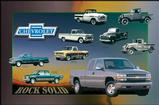 Chevy Truck-Rock Solid Poster