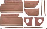 1959 Impala 2 Door Hardtop Copper With Copper Insert Front & Rear Side Panel Set Without Top Rails
