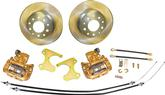 1947-81 CHEVROLET 10/12 BOLT REAR END REAR DISC BRAKES SET WITH 10-1/2 PLAIN ROTORS