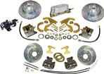 1955-64 CHEVROLET ELECTRONIC FRONT AND REAR DISC BRAKE SYSTEM WITH 10-3/4 DRILLED ROTORS