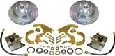 "1969-70 Impala/Full Size Front Disc Brake Conversion Set with 12"" Drilled/Slotted Rotors"