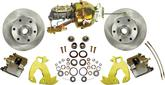 "1960-70 GM Truck Power Front Brake System with 12"" Plain Rotors and 6 x 5-1/2"" Bolt Pattern"