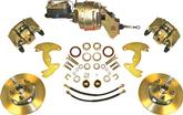 "1965-69 B-Body With 10"" Drums / 5X4-1/2"" Bolt Pattern Power Front Disc Brake Upgrade Plain Rotors"