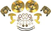 "1965-72 A-Body 10"" Drums / 5X4"" Bolt Pattern Front Disc Brake Conversion Set With Plain Rotors"
