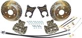 1965-74 CHEVROLET IMPALA 10/12 BOLT REAR END REAR DISC BRAKES SET WITH 12 DRILLED ROTORS
