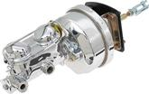 "1965-70 Impala / Full Size 4 Wheel Drum  7"" Brake Booster / Master Cylinder Combo With Chrome Finish"