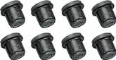 1958-64 Impala / Full Size Black Polyurethane Front Upper / Lower Control Arm Bushings With Shells
