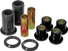 1965-70 IMPALA / FULL SIZE BLACK POLYURETHANE FRONT UPPER CONTROL ARM BUSHINGS WITH SHELLS