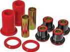 1965-70 IMPALA / FULL SIZE RED POLYURETHANE FRONT UPPER CONTROL ARM BUSHINGS WITH SHELLS