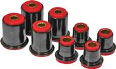 1971-73 IMPALA / FULL SIZE RED  POLYURETHANE FRONT UPPER / LOWER CONTROL ARM BUSHING SET