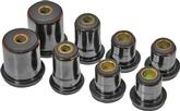 1973 IMPALA / FULL SIZE BLACK POLYURETHANE FRONT UPPER / LOWER CONTROL ARM BUSHING SET (1.375 LOWER)