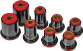 1973 IMPALA / FULL SIZE RED  POLYURETHANE FRONT UPPER / LOWER CONTROL ARM BUSHING SET (1.375 LOWER)