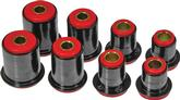 1974-79 IMPALA/FULL SIZE RED POLYURETHANE FRONT UPPER/LOWER CONTROL ARM BUSHING SET (1.625 LOWER)