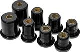 1974 IMPALA / FULL SIZE BLACK POLYURETHANE FRONT UPPER / LOWER CONTROL ARM BUSHING SET (1.375 LOWER)