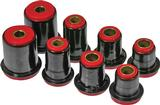 1974 IMPALA / FULL SIZE RED POLYURETHANE FRONT UPPER / LOWER CONTROL ARM BUSHING SET (1.375 LOWER)