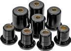 1991-96 Impala / Caprice Black Polyurethane Front Upper / Lower Control Arm Bushing Set