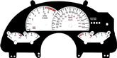 93-96 TRANS-AM GAUGE FACE WHITE