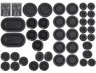 1969-70 Mustang / Cougar Rubber Body Plug Kit - 44 piece set