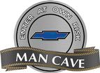 "18"" X 14"" Blue Bow Tie Man Cave Metal Sign"