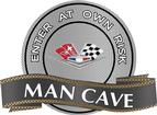 "18"" X 14"" 327/409 Style V-Flag Man Cave Metal Sign"