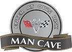 "18"" X 14"" 454 V-Flag Man Cave Metal Sign"
