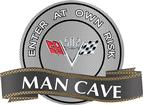 "18"" x 14"" 502 V-Flag Man Cave Metal Sign"