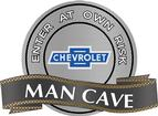 "18"" x 14"" Vintage Bow Tie Man Cave Metal Sign"