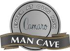"18"" X 14"" 1974 Camaro Man Cave Metal Sign"