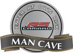 "18"" X 14"" Gen5 Camaro RS Man Cave Metal Sign"