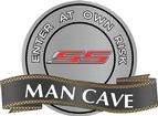 "18"" X 14"" 2010 SS Man Cave Metal Sign"