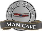 "18"" X 14"" Chevy V8 Crest Man Cave Metal Sign"