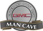 "18"" x 14"" GMC Man Cave Metal Sign"