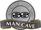 "18"" X 14"" SS Man Cave Metal Sign"