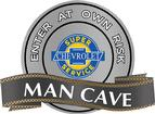 "18"" x 14"" Chevrolet Super Service Man Cave Metal Sign"