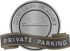 "18"" X 14"" Hot Rod Garage Bel Air Private Parking Metal Sign"
