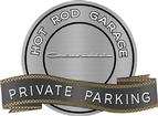 "18"" X 14"" Hot Rod Garage 1957 Chevrolet Private Parking Metal Sign"