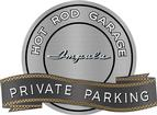 "18"" X 14"" Hot Rod Garage 61 Impala Private Parking Metal Sign"