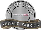 "18"" X 14"" Hot Rod Garage 1964 Impala SS Private Parking Metal Sign"