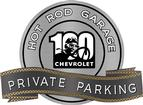 "18"" X 14"" Hot Rod Garage Vintage Chevrolet Anniversary Private Parking Metal Sign"
